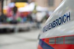 Vehículo de rescate Fotografía de archivo libre de regalías