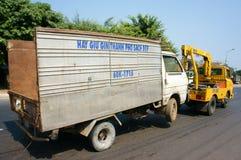 Vehículo de rescate asiático sercive Foto de archivo