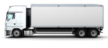 Vehículo de salida del cargo stock de ilustración