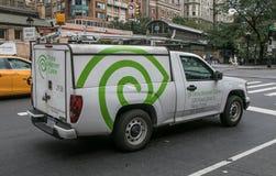 Vehículo de Time Warner Fotografía de archivo