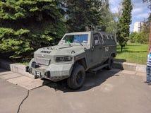 Vehículo de Ucrania del ejército Fotografía de archivo libre de regalías