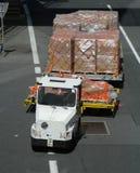 Vehículo del aeropuerto Imágenes de archivo libres de regalías