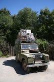 Vehículo del safari Imágenes de archivo libres de regalías