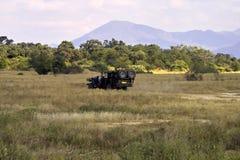 Vehículo del safari Foto de archivo libre de regalías