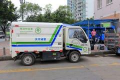 Vehículo del saneamiento Foto de archivo libre de regalías