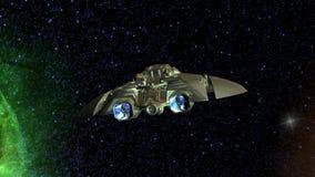Vehículo espacial stock de ilustración