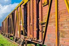 Vehículo ferroviario ruso Fotos de archivo libres de regalías