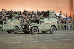 Vehículo GAZ Tigr de la movilidad de la infantería Foto de archivo libre de regalías