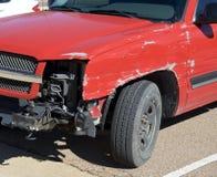 Vehículo implicado en un accidente de tráfico Foto de archivo