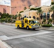 Vehículo Las Vegas Nevada de la emergencia imagen de archivo