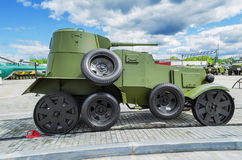 Vehículo ligero blindado ligero BA-20 Vista lateral Foto de archivo libre de regalías