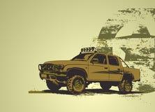 Vehículo militar ilustración del vector