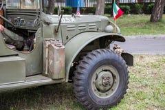 Vehículo militar Fotos de archivo libres de regalías