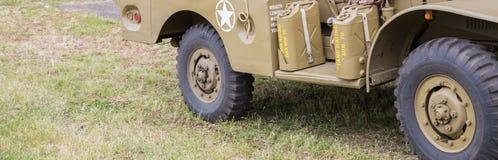 Vehículo militar Imágenes de archivo libres de regalías