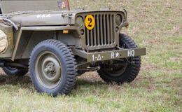 Vehículo militar Foto de archivo libre de regalías