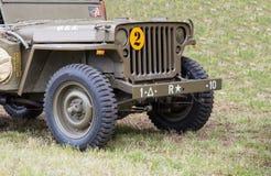 Vehículo militar Imagen de archivo libre de regalías