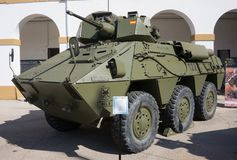 Vehículo militar de España Imagenes de archivo