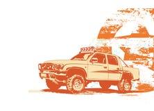 Vehículo militar de la vendimia libre illustration
