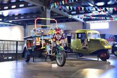 Vehículo rural indio colorido del vintage Fotografía de archivo