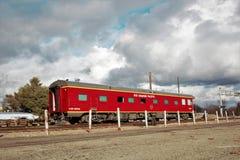 Vehículo septentrional y pacífico de Idaho del ferrocarril de pasajeros fotografía de archivo