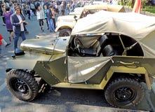 Vehículo soviético GAZ-67 de la todo-rueda-impulsión de la Segunda Guerra Mundial Fotografía de archivo