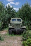 Vehículo soviético viejo, Foto de archivo