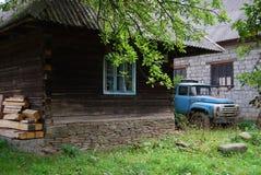 Vehículo viejo ZIL 130 Fotos de archivo