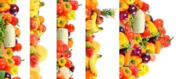 Vehículo y fruta Fotografía de archivo libre de regalías
