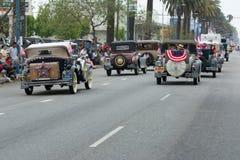 Vehículos antiguos de Ford Foto de archivo libre de regalías