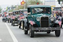 Vehículos antiguos de Ford Fotografía de archivo libre de regalías