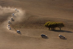 Vehículos campo a través Foto de archivo