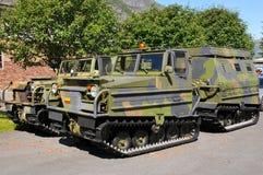 Vehículos de ejército Imagen de archivo libre de regalías