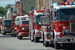 Vehículos de rescate Imagenes de archivo