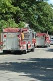 Vehículos de rescate Foto de archivo libre de regalías