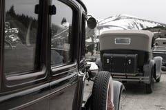 Vehículos del vintage Foto de archivo libre de regalías