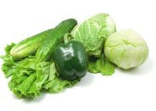 Vehículos verdes Imagen de archivo