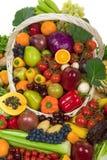 Vehículos y frutas Fotos de archivo libres de regalías