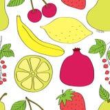 Vehículos y frutas libre illustration