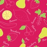 Vehículos y frutas Fotografía de archivo