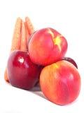 Vehículos y frutas sanos Foto de archivo