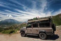 Vehículo de la expedición Foto de archivo