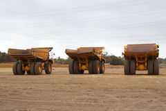 Vehículo de la explotación minera Imagen de archivo