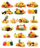 Vehículo y fruta Imagen de archivo