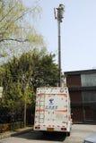 Vehículos de las comunicaciones de la emergencia Fotografía de archivo libre de regalías