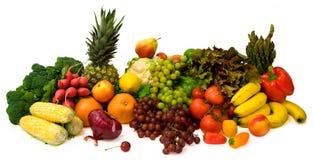 Vehículos y frutas Fotografía de archivo libre de regalías