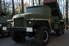 Vehicl militare di combattimento della fanteria Fotografia Stock