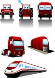 Vehicle. Vector illustration for a set vehicle icon Stock Photography