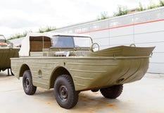 Vehicle - amphibians. Pyshma, Ekaterinburg, Russia - August 16, Stock Image