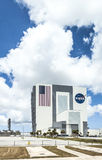The Vehicle Assembly Building at NASA, Kennedy Space Stock Photos