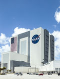 The Vehicle Assembly Building at NASA, Kennedy Space Royalty Free Stock Photography